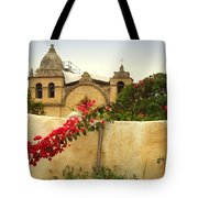 Carmel Mission Getting A Facelift Tote Bag