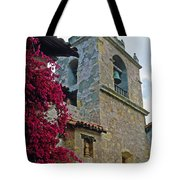Carmel Mission Tower Tote Bag