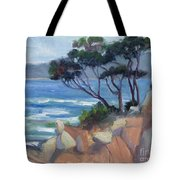 Carmel View From Point Lobos Tote Bag