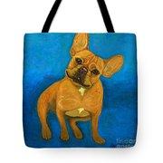 Carmen French Bulldog Tote Bag