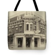 Carnation Cafe Main Street Disneyland Heirloom Tote Bag