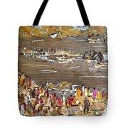 Carnival At River Tote Bag
