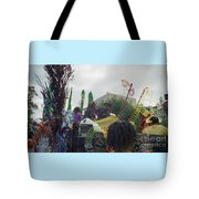 Carnival Girls At Play In Costume  Tote Bag