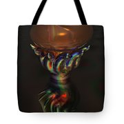 Carnival Glass Bulb Sprouter  Tote Bag