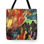 Carnival In Spain Tote Bag