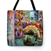 Carnival Moon Variant 1 Tote Bag