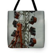 Carnival Zipper Tote Bag