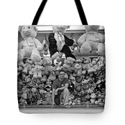 Carny Worker Monchrome Tote Bag