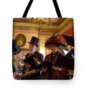 Carol Singers At Christmas Tote Bag