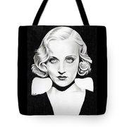 Carole Lombard Tote Bag