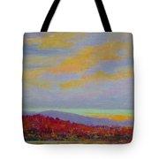 Carolina Autumn Sunset Tote Bag