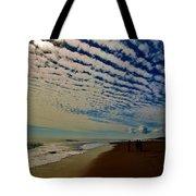 Carolina Blue Sky And Pier 10 10/17 Tote Bag