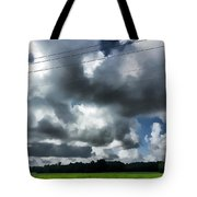 Carolina Clouds Tote Bag