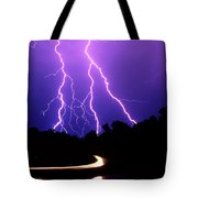 Carolina Electrical Storm Tote Bag