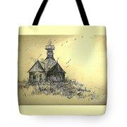 Carolina Farm House Tote Bag