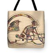 Carolina Panthers Logo Art Tote Bag