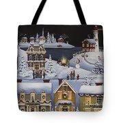 Caroling In Winterberry Tote Bag