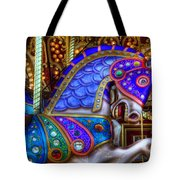 Carousel Beauty Prancing Tote Bag