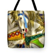 Carousel Charger Tote Bag