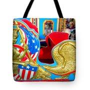 Carousel Chariot Tote Bag