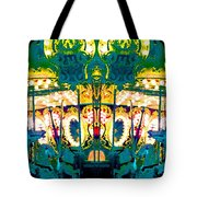 Carousel Convergence Tote Bag