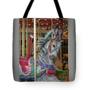 Carousel Go Round Tote Bag