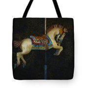 Carousel Horse Painterly Tote Bag