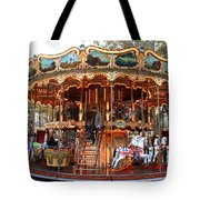 Carousel In Avignon Tote Bag