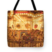 Carousel Night Lights Tote Bag