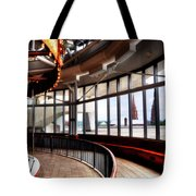 Carousel Over Albany Tote Bag