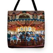 Carousel Ride Tote Bag