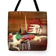 Carousel Rush Tote Bag