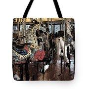 Carousel War Horse Tote Bag