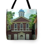 Carpenters Hall In Philadephia Tote Bag