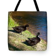 Carpenters Park-ducks Tote Bag