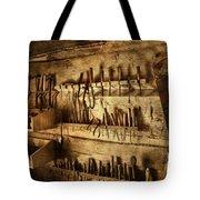 Carpenter's Workroom Tote Bag