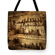 Carpenter's Workroom Tote Bag