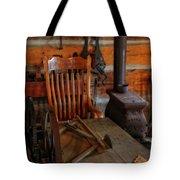 Carpentry Workshop Tote Bag