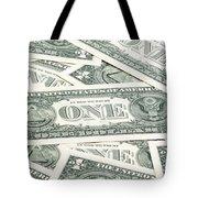 Carpet Of One Dollar Bills Tote Bag