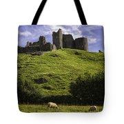 Carreg Cennan Castle Tote Bag