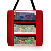 Carriage And Stagecoach Three-in-one Tote Bag