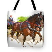 Carriage Artistic Tote Bag