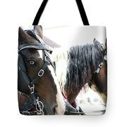 Carriage Horse - 5 Tote Bag