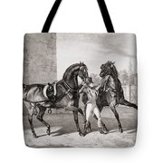 Carriage Horses For The King Tote Bag