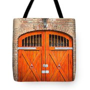 Carriage House Doors Tote Bag