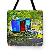 Amish Carriage Tote Bag