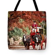 Carriage Ride Tote Bag