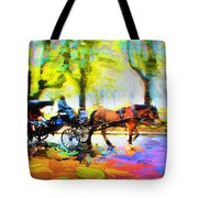 Carriage Rides Series 02 Tote Bag