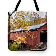 Carrollton Covered Bridge Tote Bag