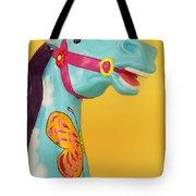 Carrosel Horse Tote Bag